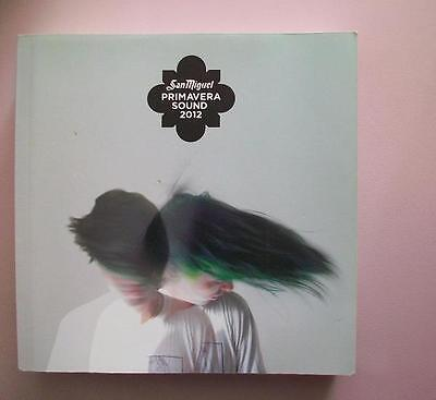 Libro - PRIMAVERA SOUND 2012 - Book En Perfecto Estado