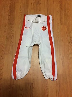 CLEMSON Tigers Authentic Player-Issued Football Game Pants (W/O) - Sz 28