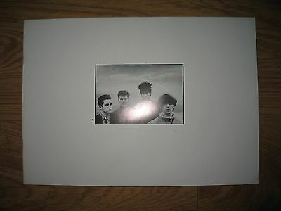 Rare Echo and the Bunnymen concert book 1984 in exc condition