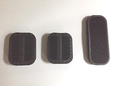 124 Fiat Spider Set Pedal Pads 1979-1985 new