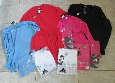 Job Lot of Mens Sportswear / Team wear mixed sizes includes adidas all BNWT