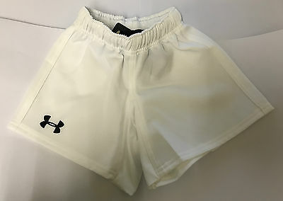 Under Armour Youth White Shorts YSM
