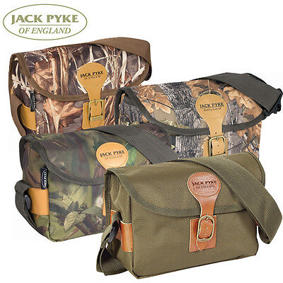 Jack Pyke Shotgun Cartridge Bag holds 150 boxed shells - four patterns