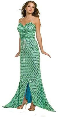 Underwraps Women's Pearl of the Sea Mermaid Full Length Costume (X-Large)