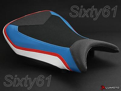 BMW S1000RR Seat Cover 2015 2016 2017 Blue Red Black White Rider Luimoto