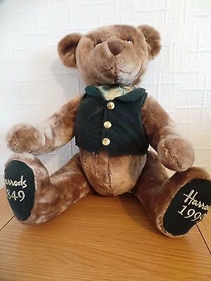 Harrods 150 Year Anniversary Special Edition 1849 - 1999 - Jointed Teddy Bear