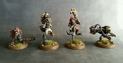 Blood Bowl pro painted Star Player Goblins - Award Winning