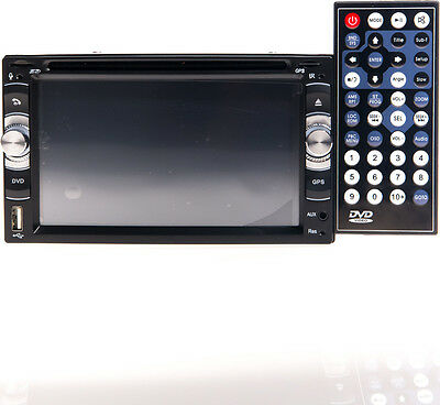 Media Player Auto 6228 Lettore Dvd Radio GPS Cd Usb 2 Din Touch Screen 16:9 hsb