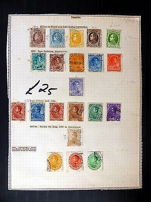 VENEZUELA Various CLASSICS on Old Album Page MIXED CONDITION Cat £330+ FP8844