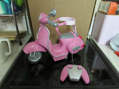 Zapf Creations Baby Born Remote Control Scooter Full Working Order