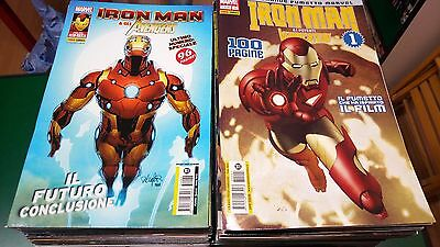 Iron Man e i Potenti Vendicatori - serie completa 1/62 - Panini Comics SCIM