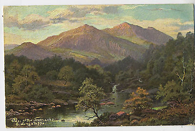 Pass of the Trossachs & Longstaff Scotland Vintage Edwardian Postcard 9