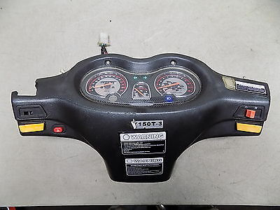 08 Wangye WY150T-3 Chinese Scooter GY6 150 Gauge Cluster Gauges Dash Roketa