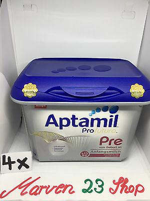 Aptamil Profutura Infant Formula Pre from birth Safepack,  ( 4 Boxes )
