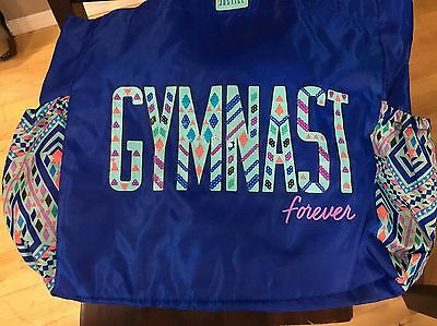 JUSTICE Girls Gymnast Slouch Tote Bag, NEW    Gym