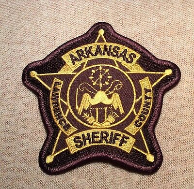 AR Lawrence County Arkansas Sheriff Patch