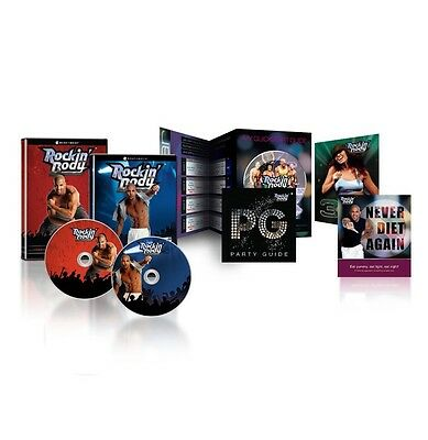Shaun T's Rockin Body DVD Workout Programme  Burn up to 1,500 Calories a Day NEW