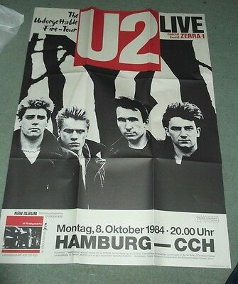 U2   Selection Of Repro Posters.,