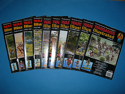 Multi-listing Wargames Illustrated Magazine 2004 - Issues 197 to 205
