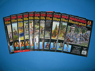Multi-listing Wargames Illustrated Magazine 2006 - Issues 221 to 225