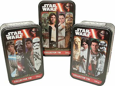 TOPPS - Star Wars - Journey to Star Wars - ALLE 3 Tin Boxen - Deutsch