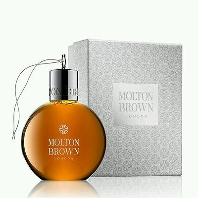 MOLTON BROWN Black Peppercorn Body Wash Festive Bauble 75ml Christmas Gift