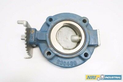 Norriseal M3011-131B-1F 3 In 200 Iron Flanged Butterfly Valve D549822
