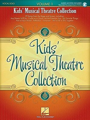 Kids' Musical Theatre Collection: Volume 1 (Boo.... Voice Sheet Music, Downloads