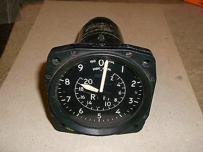 Smiths RPM Dial, 6A/6918 for RAF Aircraft
