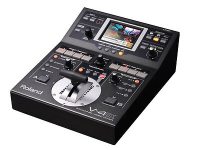 Roland V-4EX Four Channel Digital Video Mixer Effects Touch Control New EMS