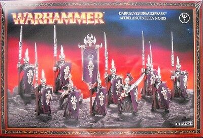 Games Workshop Warhammer Fantasy, Dark Elves Dreadspears, GW 85-07