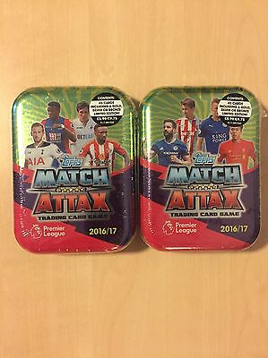 Match Attack 2016/17 Mini Collectors Tin 45 Cards Including Limited Edition New