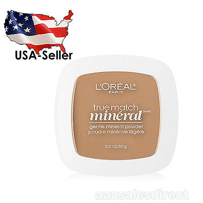 L'Oreal Paris True Match Mineral Pressed Powder, Sand Beige