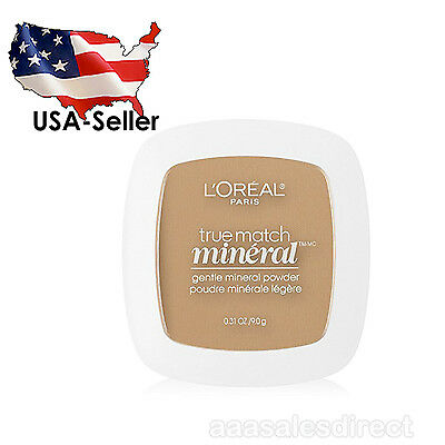L'Oreal Paris True Match Mineral Pressed Powder, Natural Buff