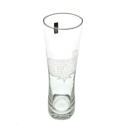 San Antonio Spurs Tall Beer Glass OFFICIAL LICENSED PRODUCT