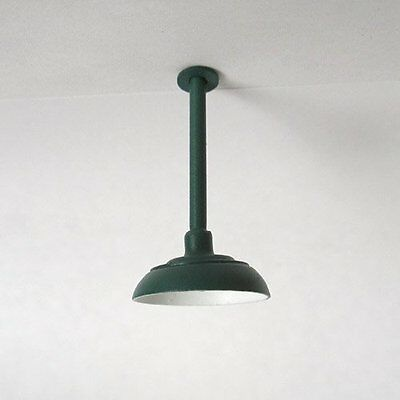 G-Scale Model Train Building/Depot/Station Ceiling Lamp/Light Green NEW