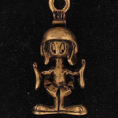 CHARM Marvin The Martian WARNER BROS LOONEY TUNES Gold NEW WB STORE 4212