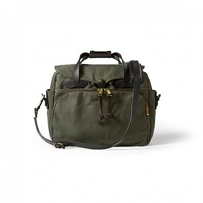 Filson Laptop Bag Briefcase Padded Computer Case Otter Green 70258