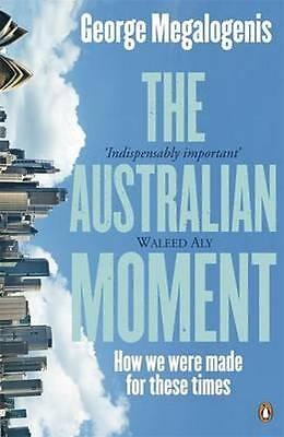 NEW Australian Moment, The By George Megalogenis Paperback Free Shipping