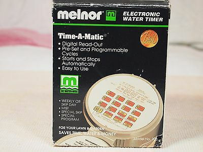 Melnor Time- a Matic Electronic Water Timer Sprinkler Controller Irrigation