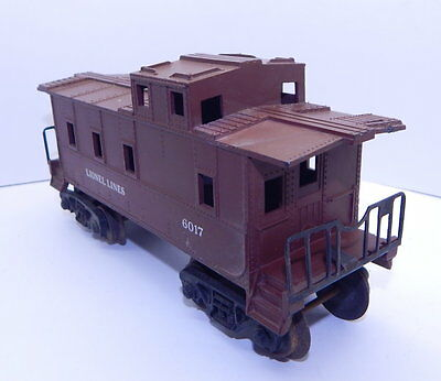 Lionel Train O Scale Post War Caboose 6017 Model Railway Car R12913
