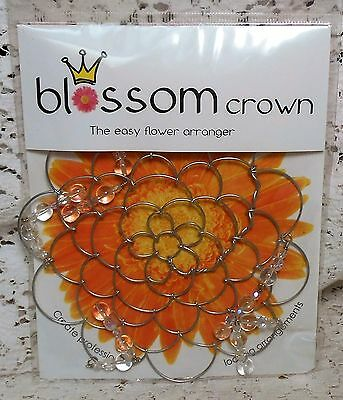 BLOSSOM CROWN, The Easy Flower Arranger Grey #16491 by Annabell Noel Designs
