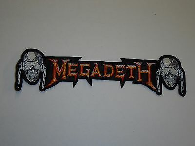 Megadeth Embroidered Back Patch