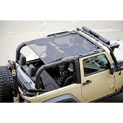 Jeep Wrangler Jk 07-16 Eclipse Sun Shade Top 2 Door (Parts)