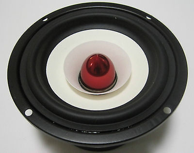 "Coste 4Ohm High-End 10cm 4"" Fullrange Loudspeaker with Dom Broadband speaker"