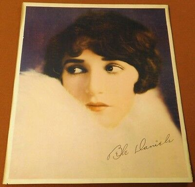 BEBE DANIELS 20's PARAMOUNT PICTURES Movie Personality PORTRAIT JUMBO LOBBY CARD