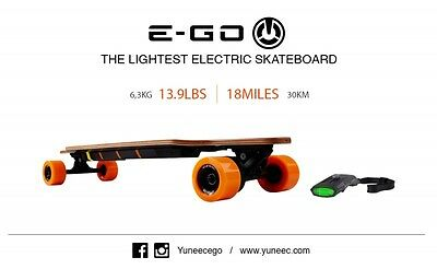Yuneec Electric Skateboard E-GO Cruiser EGOCR001EU