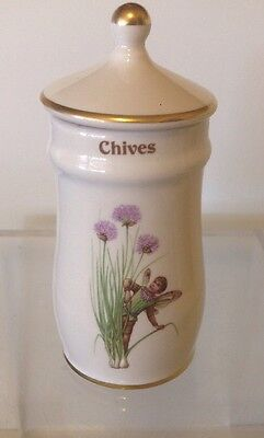 The Flower Fairy Spice Jars 1989 - Chives