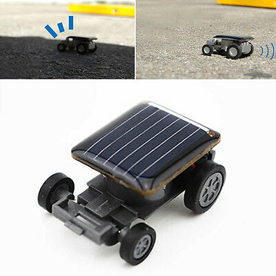 SUP Mini Solar Powered Robot Racing Car Vehicle Educational Gadget Kids Gift Toy