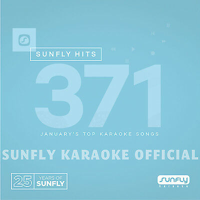 Sunfly Karaoke Hits SF371 January 2017 (CDG) Official Sunfly - Free UK Post